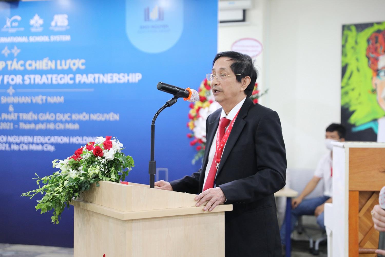 Ông Trịnh Quang Đồng - Tổng Giám đốc KNE phát biểu tại buổi lễ
