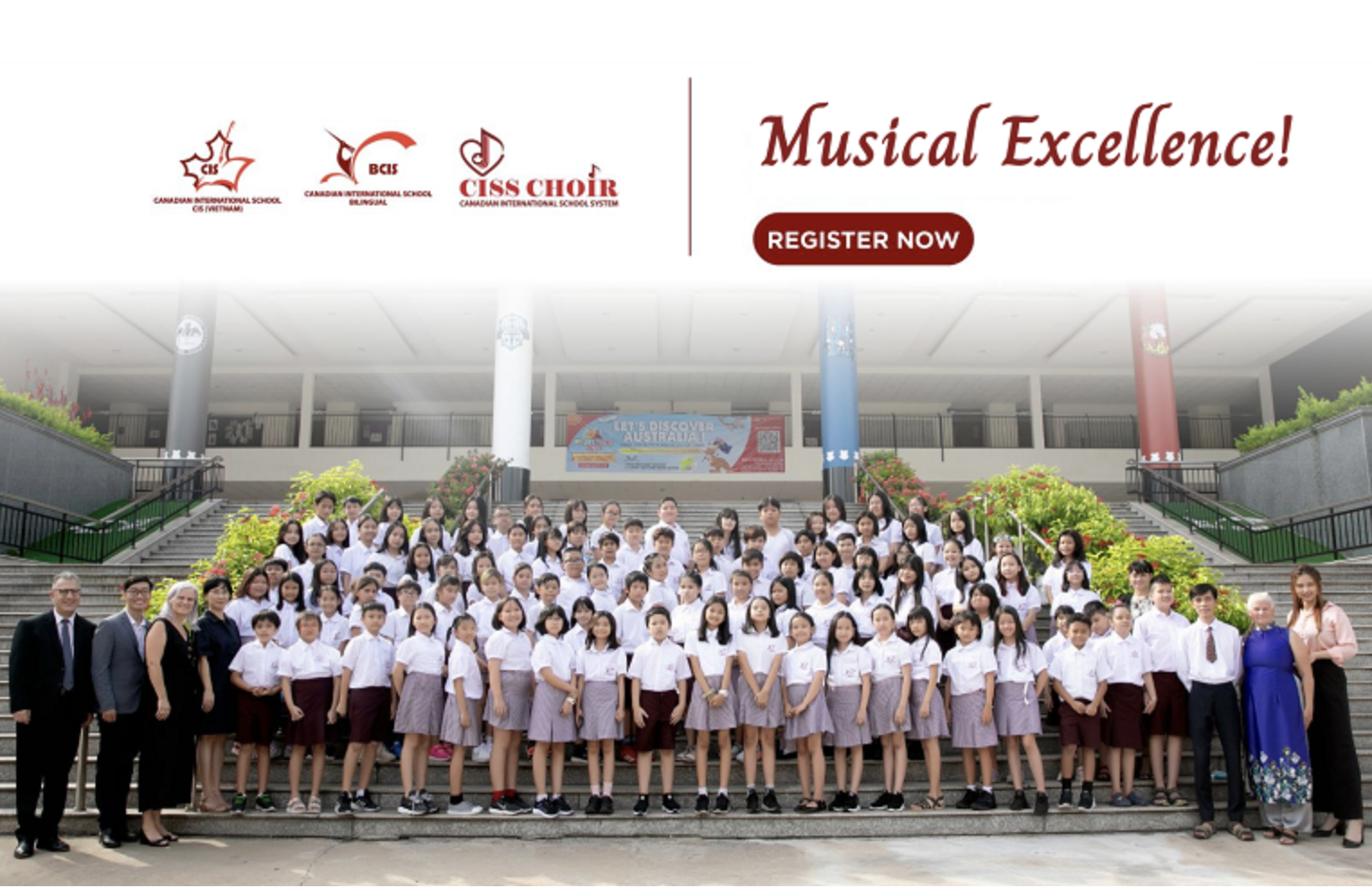 Auditions for the CISS Choir will take place soon - APPLY NOW for the 2021-2022 school year